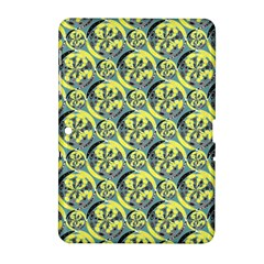 Black And Yellow Pattern Samsung Galaxy Tab 2 (10 1 ) P5100 Hardshell Case  by linceazul
