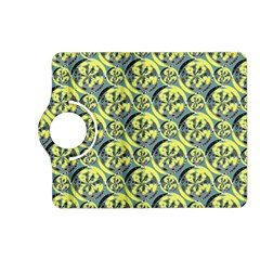 Black And Yellow Pattern Kindle Fire Hd (2013) Flip 360 Case by linceazul