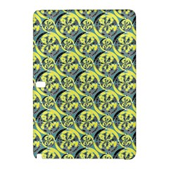 Black And Yellow Pattern Samsung Galaxy Tab Pro 12 2 Hardshell Case by linceazul