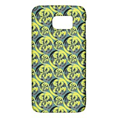 Black And Yellow Pattern Galaxy S6 by linceazul