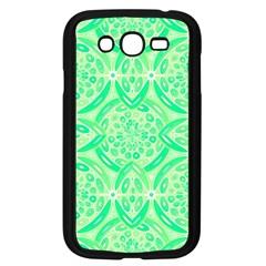 Kiwi Green Geometric Samsung Galaxy Grand Duos I9082 Case (black) by linceazul