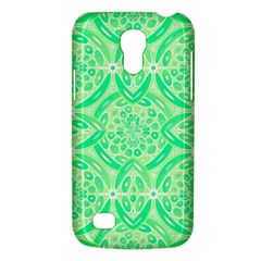Kiwi Green Geometric Galaxy S4 Mini by linceazul