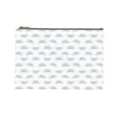 Pop Art Style Crabs Motif Pattern Blob Cosmetic Bag (large)  by dflcprints