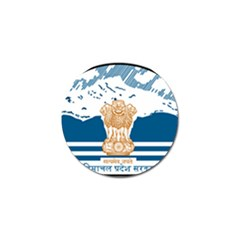 Seal Of Indian Sate Of Himachal Pradesh Golf Ball Marker (4 Pack) by abbeyz71