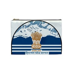 Seal Of Indian Sate Of Himachal Pradesh Cosmetic Bag (medium)  by abbeyz71
