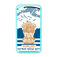 Seal Of Indian Sate Of Himachal Pradesh Apple Iphone 4 Case (color) by abbeyz71