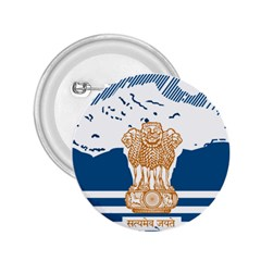 Seal Of Indian Sate Of Himachal Pradesh 2 25  Buttons by abbeyz71