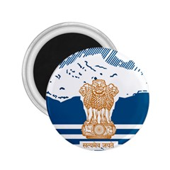 Seal Of Indian Sate Of Himachal Pradesh 2 25  Magnets by abbeyz71