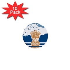 Seal Of Indian Sate Of Himachal Pradesh 1  Mini Buttons (10 Pack)  by abbeyz71