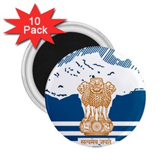 Seal Of Indian Sate Of Himachal Pradesh 2 25  Magnets (10 Pack)  by abbeyz71