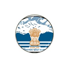 Seal Of Indian Sate Of Himachal Pradesh Hat Clip Ball Marker (10 Pack) by abbeyz71