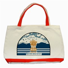 Seal Of Indian Sate Of Himachal Pradesh Classic Tote Bag (red) by abbeyz71