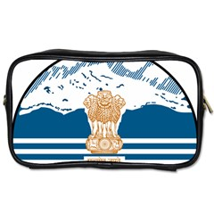 Seal Of Indian Sate Of Himachal Pradesh Toiletries Bags 2 Side by abbeyz71