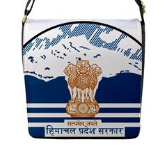 Seal Of Indian Sate Of Himachal Pradesh Flap Messenger Bag (l)  by abbeyz71