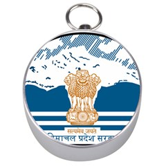 Seal Of Indian Sate Of Himachal Pradesh Silver Compasses by abbeyz71