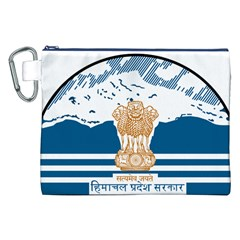 Seal Of Indian Sate Of Himachal Pradesh Canvas Cosmetic Bag (xxl) by abbeyz71