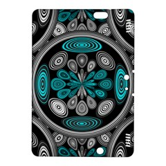 Geometric Arabesque Kindle Fire Hdx 8 9  Hardshell Case by linceazul