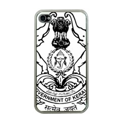 Seal Of Indian State Of Kerala  Apple Iphone 4 Case (clear) by abbeyz71