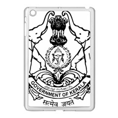 Seal Of Indian State Of Kerala  Apple Ipad Mini Case (white) by abbeyz71