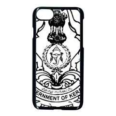 Seal Of Indian State Of Kerala  Apple Iphone 7 Seamless Case (black) by abbeyz71