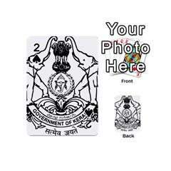 Seal Of Indian State Of Kerala Playing Cards 54 (mini)  by abbeyz71