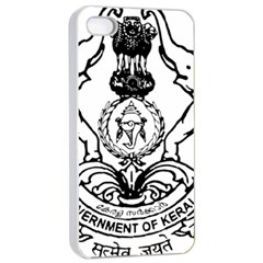 Seal Of Indian State Of Kerala Apple Iphone 4/4s Seamless Case (white) by abbeyz71