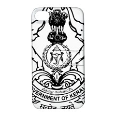 Seal Of Indian State Of Kerala Apple Iphone 4/4s Hardshell Case With Stand by abbeyz71