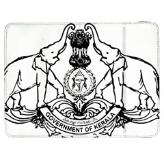 Seal Of Indian State Of Kerala Samsung Galaxy Tab 7  P1000 Flip Case by abbeyz71