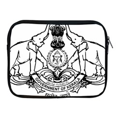 Seal Of Indian State Of Kerala Apple Ipad 2/3/4 Zipper Cases by abbeyz71