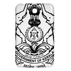 Seal Of Indian State Of Kerala Samsung Galaxy Tab 3 (7 ) P3200 Hardshell Case  by abbeyz71