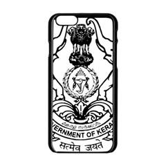 Seal Of Indian State Of Kerala Apple Iphone 6/6s Black Enamel Case by abbeyz71