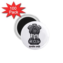 Seal Of Indian State Of Meghalaya 1 75  Magnets (100 Pack)