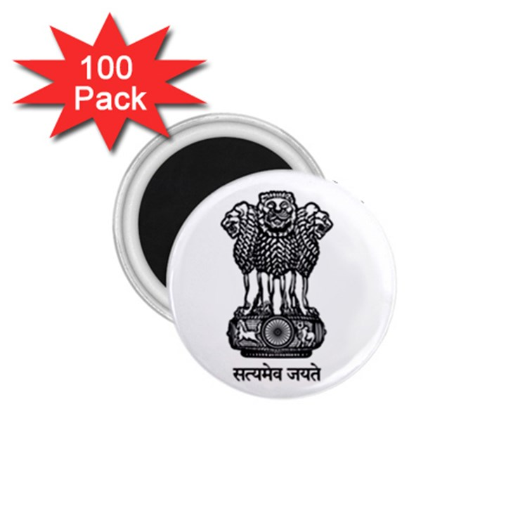 Seal of Indian State of Meghalaya 1.75  Magnets (100 pack)