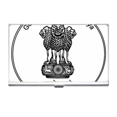Seal Of Indian State Of Meghalaya Business Card Holders by abbeyz71