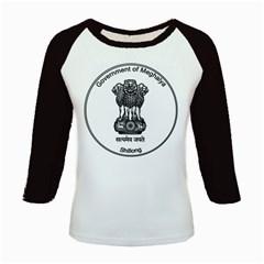 Seal Of Indian State Of Meghalaya Kids Baseball Jerseys by abbeyz71
