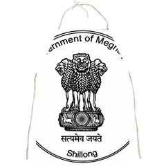 Seal Of Indian State Of Meghalaya Full Print Aprons by abbeyz71