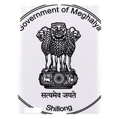 Seal Of Indian State Of Meghalaya Apple Ipad 3/4 Hardshell Case by abbeyz71