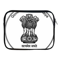 Seal Of Indian State Of Meghalaya Apple Ipad 2/3/4 Zipper Cases by abbeyz71