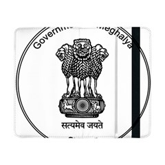 Seal Of Indian State Of Meghalaya Samsung Galaxy Tab Pro 8 4  Flip Case by abbeyz71