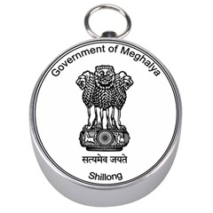 Seal Of Indian State Of Meghalaya Silver Compasses by abbeyz71