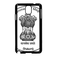 Seal Of Indian State Of Meghalaya Samsung Galaxy Note 3 Neo Hardshell Case (black) by abbeyz71