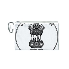Seal Of Indian State Of Meghalaya Canvas Cosmetic Bag (s) by abbeyz71