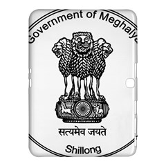 Seal Of Indian State Of Meghalaya Samsung Galaxy Tab 4 (10 1 ) Hardshell Case  by abbeyz71