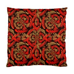 Red And Brown Pattern Standard Cushion Case (one Side) by linceazul
