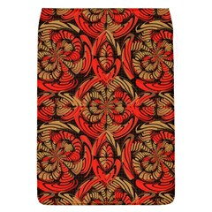 Red And Brown Pattern Flap Covers (l)  by linceazul
