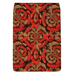 Red And Brown Pattern Flap Covers (s)  by linceazul
