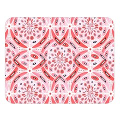 Geometric Harmony Double Sided Flano Blanket (large)  by linceazul