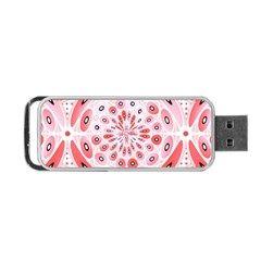 Geometric Harmony Portable Usb Flash (one Side) by linceazul