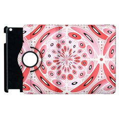 Geometric Harmony Apple Ipad 3/4 Flip 360 Case by linceazul