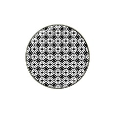 Geometric Modern Baroque Pattern Hat Clip Ball Marker (10 Pack) by dflcprints